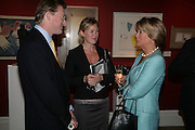CHARLIE DEAN, REBEKAH CAUDWELL AND MRS. BILL CASH, Spear's Wealth Management High-Net-Worth Awards. Sotheby's. 10 July 2007.  -DO NOT ARCHIVE-© Copyright Photograph by Dafydd Jones. 248 Clapham Rd. London SW9 0PZ. Tel 0207 820 0771. www.dafjones.com.