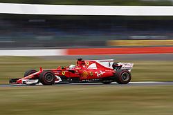 July 14, 2017 - Silverstone, Great Britain - Motorsports: FIA Formula One World Championship 2017, Grand Prix of Great Britain, .#5 Sebastian Vettel (GER, Scuderia Ferrari) (Credit Image: © Hoch Zwei via ZUMA Wire)