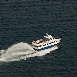 Aerial views of theStar Line Mackinac Island's Hydro-Jet® Ferry