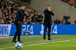 November 6, 2018 - London, Greater London, England - Mark van Bommel manager of PSV Eindhoven during the UEFA Champions League Group Stage match between Tottenham Hotspur and PSV Eindhoven at Wembley Stadium, London, England on 6 November 2018. Photo by Salvio Calabrese. (Credit Image: © AFP7 via ZUMA Wire)