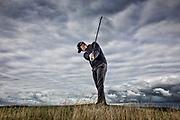 PING shoot, Dundonald Links with Brandon Stone. Brandon Stone - Dundonold Links