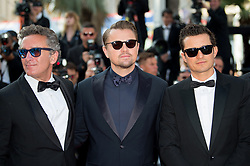 Orlando Bloom and Leonardo DiCaprio arriving on the red carpet of 'The Traitor (Il Traditore)' screening held at the Palais Des Festivals in Cannes, France on May 23, 2019 as part of the 72th Cannes Film Festival. Photo by Nicolas Genin/ABACAPRESS.COM