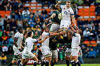 CAPE TOWN, SOUTH AFRICA - JUNE 23: England beat South Africa 24-10 at Newlands Stadium on June 23, 2018 in Cape Town, South Africa. (Photo by MB Media/Getty Images)