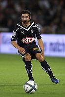 FOOTBALL - FRENCH CHAMPIONSHIP 2010/2011 - L1 - GIRONDINS BORDEAUX v FC LORIENT - 2/10/2010 - PHOTO ERIC BRETAGNON / DPPI - FAHID BEN KHALFALLAH (BOR)