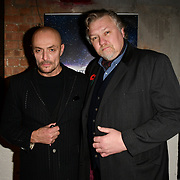 Sean Cronin and Rock Salt arrivers at Eleven Film Premiere at Picture House Central, Piccadilly Circus on 10 November 2018, London, Uk.