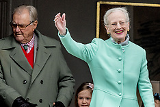 Queen Margrethe's 77th Birthday Celebration - 16 April 2017