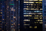These are scenes of downtown Chicago.  ©2018 Kathy Anderson