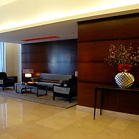 apartment building lobby lounge