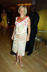 MARIELLA FROSTRUP at a party at The Sanderson Hotel, Bernnnnners Street, London in aid of Sargent Cancer Care for Children on 7th July 2004.