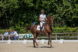 Pauluis Larissa, BEL, First Step Valentin<br /> Final selection WK Young Horses<br /> © Hippo Foto - Sharon Vandeput<br /> 29/06/19