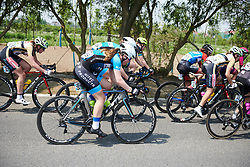 Lonneke Uneken (NED) at Tour of Chongming Island 2019 - Stage 1, a 102.7 km road race on Chongming Island, China on May 9, 2019. Photo by Sean Robinson/velofocus.com
