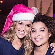 NLD/Hilversum /20131210 - Sky Radio Christmas Tree For Charity 2013, Jennifer Lynn en Julia van der Toorn