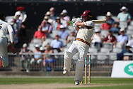 Northants Steelbacks Luke Procter  during the Specsavers County Champ Div 2 match between Lancashire County Cricket Club and Northamptonshire County Cricket Club at the Emirates, Old Trafford, Manchester, United Kingdom on 14 May 2019.