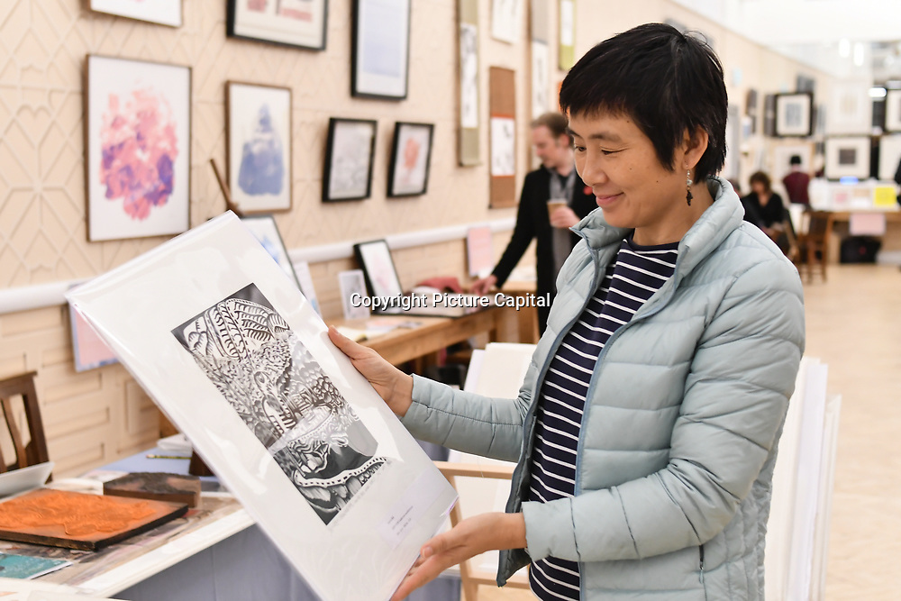 Muban Educational Trust exhibition at Winter blossom fair: A celebration of east asian art, craft and design at China Exchange on 10 November 2018, London, UK.