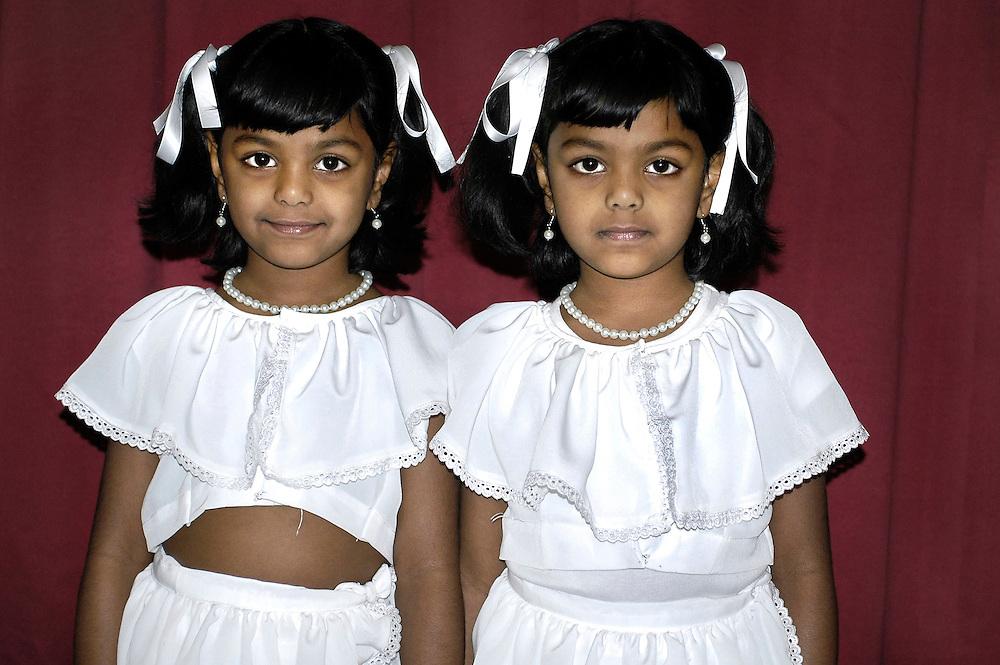 Srilankan twins