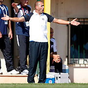 Kasimpasa's Coach Fuat Kilic during their Turkey Cup second leg soccer match istanbulspor between Kasimpasa at the Bahcelievler Stadium at istanbul Turkey on wednesday, 26 September 2012. Photo by TURKPIX