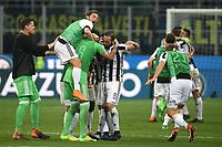 Esultanza Gonzalo Higuain Juventus celebration <br /> Milano 28-04-2018 Stadio Giuseppe Meazza in San Siro Football Calcio Serie A 2017/2018 Inter - Juventus Foto Andrea Staccioli / Insidefoto