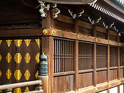 Exterior view of one of the Higashi-Honganji Temple Halls