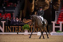 Rawlins Dane (GBR) - Sydney<br /> Grand Prix - Reem Acra FEI World Cup Dressage Qualifier - The London International Horse Show Olympia - London 2012<br /> © Hippo Foto - Jon Stroud