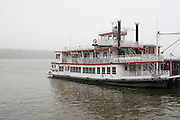 USA Missouri MO, Hannibal A riverboat on the Mississippi River