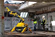 Film House. 9th March 2021. Salter Demolition Site. London. UK<br /> <br /> Photo by Zute Lightfoot of behalf of Salter Demolition
