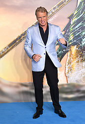 Dolph Lundgren attending the Aquaman premiere held at Cineworld in Leicester Square, London on November 26, 2018. Photo credit should read: Doug Peters/EMPICS