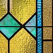 Window 4 on plan.<br /> St. Ignatius of Loyola Catholic Church, Northeast Harbor, Maine. Window 5 on plan.