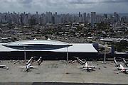 Recife_PE, Brasil.<br /> <br /> Vista aerea de Recife, Pernambuco. Na foto Aeroporto Internacional do Recife / Guararapes - Gilberto Freyre.<br /> <br /> Aerial view of Recife, Pernambuco. In this photo International airport of Recife - Guararapes - Gilberto Freyre.<br /> <br /> Foto: LEO DRUMOND / NITRO