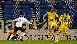 Josh Vela of Bolton Wanderers scores his sides first goal  - Mandatory by-line: Matt McNulty/JMP - 28/02/2017 - FOOTBALL - Macron Stadium - Bolton, England - Bolton Wanderers v Bristol Rovers - Sky Bet League One