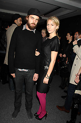 JAKE SUMNER and his sister MICKEY SUMNER children of singer Sting at a party to celebrate the launch of DKNY's new fragrance for women Delicious, held at The Serpentine Gallery, Kensington gardens, London on 12th December 2007.<br /><br />NON EXCLUSIVE - WORLD RIGHTS