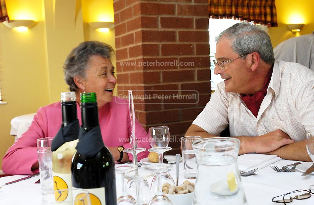 UK, 7 June 2009: Images of Brian and Anne Horrell's Golden Wedding Anniversary Celebrations. Photo by Peter Horrell / http://peterhorrell.com