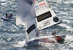 Semi Finals at Stena Match Cup Sweden, Marstrand, Sweden. Alpari World Match Racing Tour. Photo: Brian Carlin/AWMRT