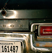 Original 'Blues brother' style Dodge Monaco police car at the Shack Up Inn, Clarksdale. If you want to explore Clarksdale and the Blues country in true retro fashion the best place to do so is by staying at the Shack Up Inn. In The Promised Land: The Great Black Migration and How It Changed America, author Nicholas Lemman describes how, on Oct. 2, 1944, a crowd of 3,000 people quietly watched the first public demonstration of the mechanical cotton picker at Hopson's plantation in Clarksdale. At best, wrote Lemman, a skilled field hand could pick 20 pounds of cotton in an hour; the mechanical picker picked 1,000 pounds. Hopson calculated that a bale of cotton (500 pounds) cost $39.41 to pick by hand and $5.26 by machine. It wasn't too hard to foresee the future.