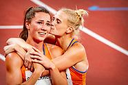 Anouk Vetter en Emma Oosterwegel hebben voor een grote verrassing gezorgd door ieder een medaille te