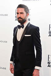 JACK GUINNESS at the 17th Elle Style Awards 2014 in association with Warehouse held at One Embankment, 8 Victoria Embankment, London on 18th February 2014.
