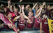 July 6th 2011: Maroons fans show their support after game 3 of the 2011 State of Origin series at Suncorp Stadium in Brisbane, QLD, Australia on July 6, 2011. Photo by Matt Roberts / mattrimages.com.au / QRL