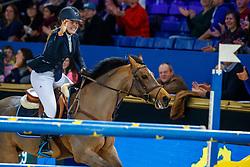 Poels Zara, BEL, Calimero<br /> WC Pony - Cavalor<br /> Vlaanderens Kerstjumping Memorial Eric Wauters<br /> © Dirk Caremans<br /> 27/12/2016
