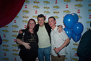 JOE PASQUALE WITH WINNERS, Bingo Lotto launch party. Soho Hotel Richmond Mews. London. 29 February 2008.  *** Local Caption *** -DO NOT ARCHIVE-© Copyright Photograph by Dafydd Jones. 248 Clapham Rd. London SW9 0PZ. Tel 0207 820 0771. www.dafjones.com.