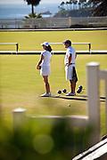 Lawn Bowling In Laguna Beach
