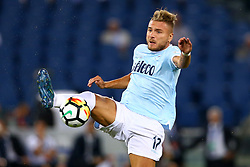 August 13, 2017 - Rome, Italy - Ciro Immobile of Lazio  during the Italian Supercup match between Juventus and SS Lazio at Stadio Olimpico on August 13, 2017 in Rome, Italy. (Credit Image: © Matteo Ciambelli/NurPhoto via ZUMA Press)