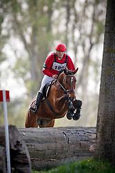 Hermans Bart (BEL) - Gorki van de Pertjeshoeve<br /> Nationaal Kampioenschap Eventing LRV - Vechmaal 2014<br /> © Dirk Caremans