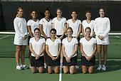 11/1/02 Women's Tennis Photo Day