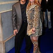 NLD/Amsterdam/20101118 - Beau Monde Awards 2010, Robert Schoemacher en partner Claudia van Zweden