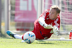 12.07.2011, Bayern Trainingsgelaende, Muenchen, GER, 1.FBL, Training Bayern Muenchen, im Bild Manuel Neuer (Bayern #1)  // during the training session,  on 2011/07/12, Training Ground, Munich, Germany, EXPA Pictures © 2011, PhotoCredit: EXPA/ nph/  Straubmeier       ****** out of GER / CRO  / BEL ******