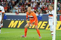 FOOTBALL - FRENCH CHAMPIONSHIP 2012/2013 - L1 - PARIS SG v FC LORIENT - 11/08/2012 - PHOTO JEAN MARIE HERVIO / REGAMEDIA / DPPI - FABIEN AUDARD (FCL)