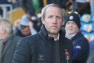 Charlton Athletic Manager Lee Bowyer during the The FA Cup match between Mansfield Town and Charlton Athletic at the One Call Stadium, Mansfield, England on 11 November 2018.