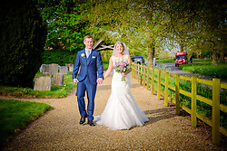 Summer Wedding Photography at St. Peter's Church in Benington, Hertfordshire.