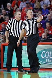 29 December 2016:  Gerry Pollard and Ray Natili during an NCAA  MVC (Missouri Valley conference) mens basketball game between the Evansville Purple Aces the Illinois State Redbirds in  Redbird Arena, Normal IL