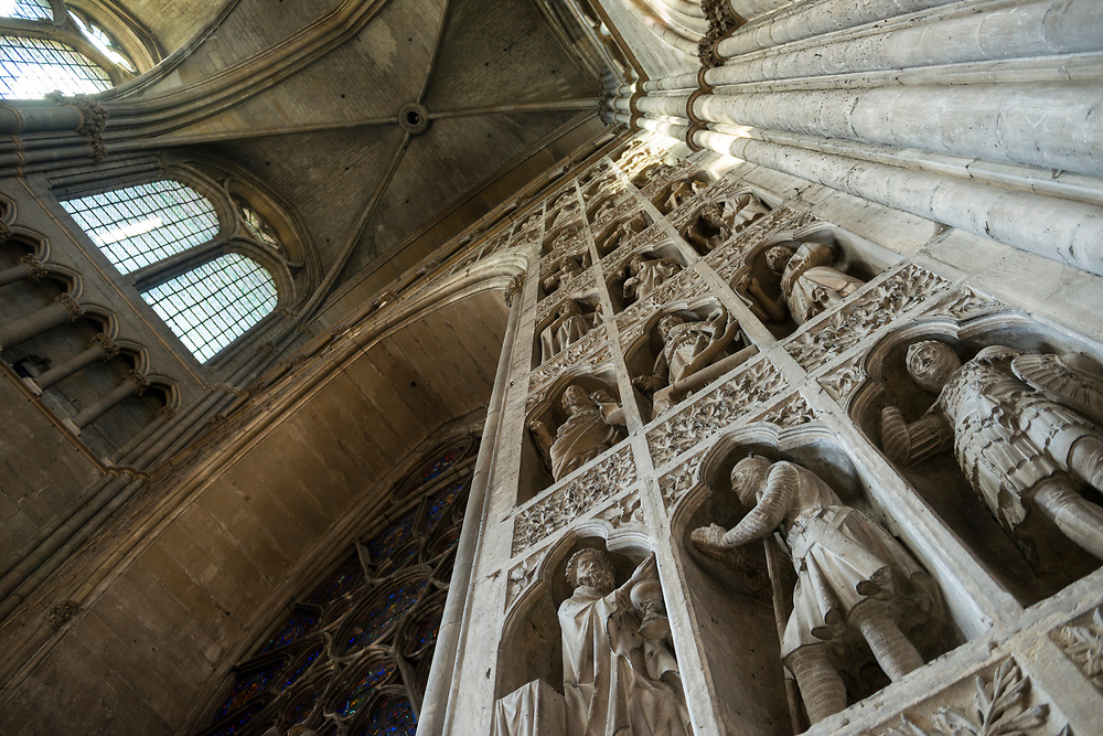 Completed in 1275, Reims Cathedral was the location for the coronations of the kings of France.