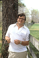 Author Gary Wills in 1979..Photograph by Dennis Brack bb32